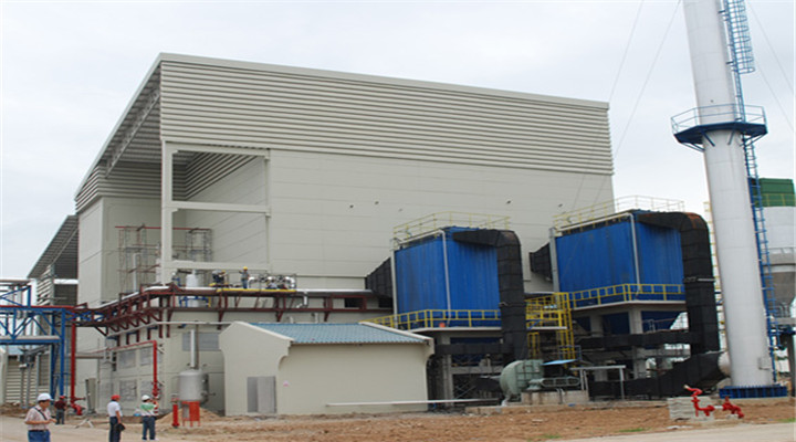 ademo for steam power plant boiler